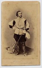 Eduard Devrient (josefnovak33) Tags: old vintage de photograph actor cdv visite carte