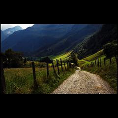 Lighting in landscape (dellafels) Tags: mountain alps austria dellafelspic httwinkeltal theunforgettablepictures bucheben magicunicornverybest