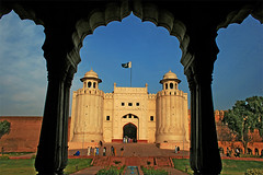 Lahore fort (Iqbal.Khatri) Tags: park travel pakistan history architecture century photography site fort dream royal places images east kings getty sight punjab middle 18 karachi archeology 19 bagh lahore emperor archeological shahi qila mughal iqbal baradari khatri hazuri hazori gettyimagesmiddleeast