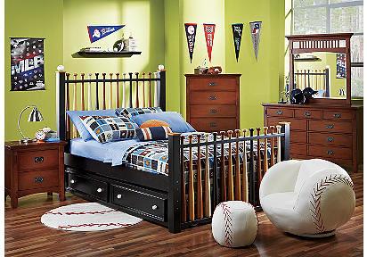 baseball bed