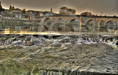Dumfries Caul (Donsfan) Tags: from bridge autumn waterfall hdr available dumfries nith caul devorgilla reds1903aolcom