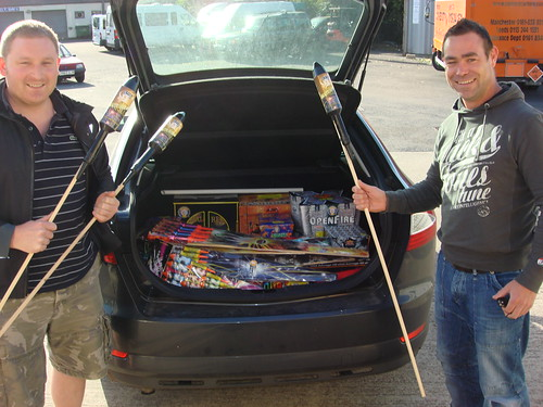 Ford Mondeo Full Of Epic fireworks