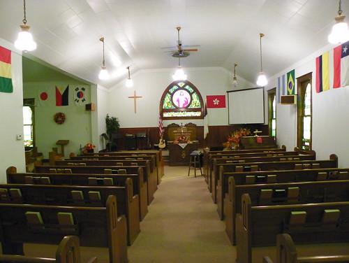 Interior View, CMA Church