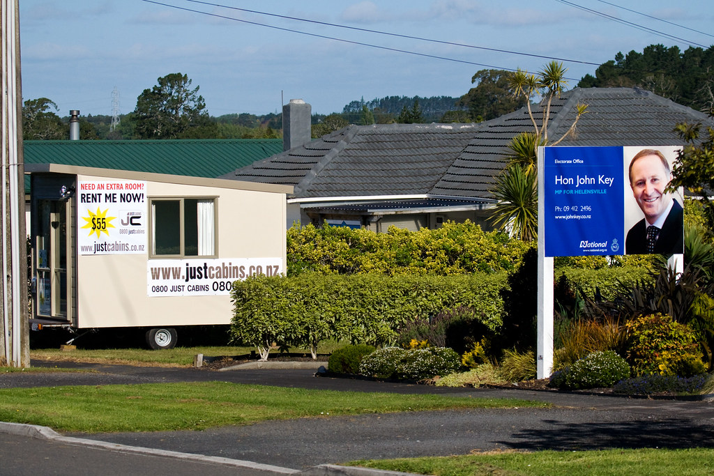 John Key Solves the RWC 2011 Accommodation Shortage