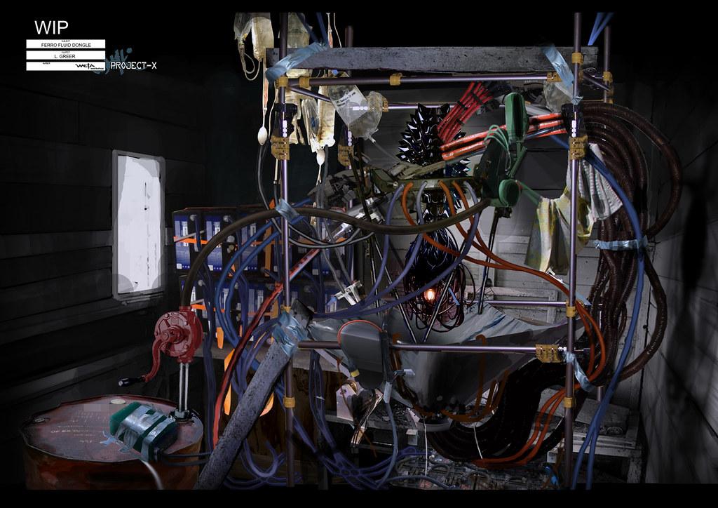 Sector 9 química fluido ferroso