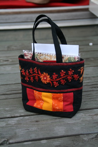 Friendship bag swap - Mine, all mine!