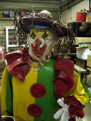 clown menace-Algoma antique shop