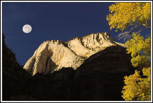 ZION WHITE THRONE AND MOON