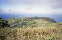880625 Quad bike tour of Pitcairn (rona.h) Tags: june 1988 pitcairn cloudnine ronah