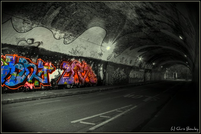 Mina Road Tunnel Graffiti