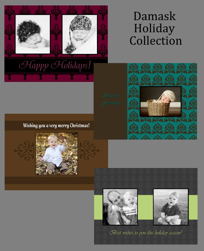 Example - Damask Holiday Collection