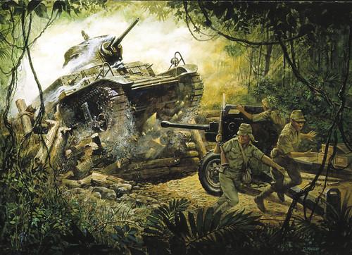[フリー画像] 芸術・アート, 絵画・版画, 戦争・軍隊, 201010212300