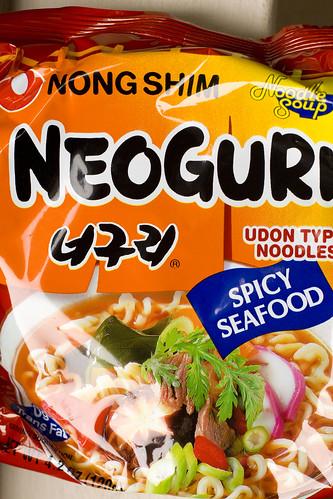 Neoguri Spicy Seafood Ramen Noodles