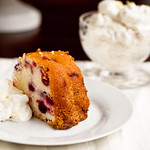 Cream Cheese Cranberry Cake