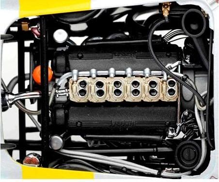 Kyosho GTO motore