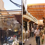 Fès: Travaux de ravalement de façades, auvents et Mamouni  sur la rue Seffarine