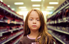 Holiday Shopping (isayx3) Tags: portrait 35mm shopping store nikon child bored boredom fluorescent confused target 365 nikkor f18 dazed d40 plainjoe isayx3