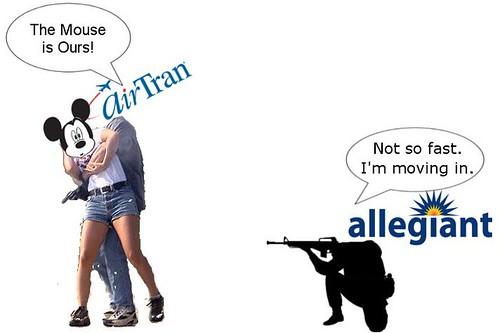 Allegiant Starts Orlando Flights