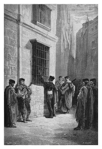 059-Una serenata en Córdoba-Spain (1881)- Doré Gustave