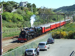Ja 1271 Tawa Dec 2009 (AA654) Tags: newzealand train rail railway steam nz ja excursion tawa 1271 kiwirail