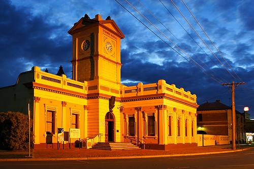 Deniliquin, New South Wales, Australia, Town Hall IMG_5611_Deniliquin