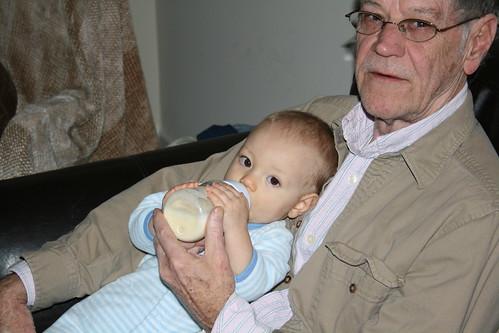 Poppy and Grandson