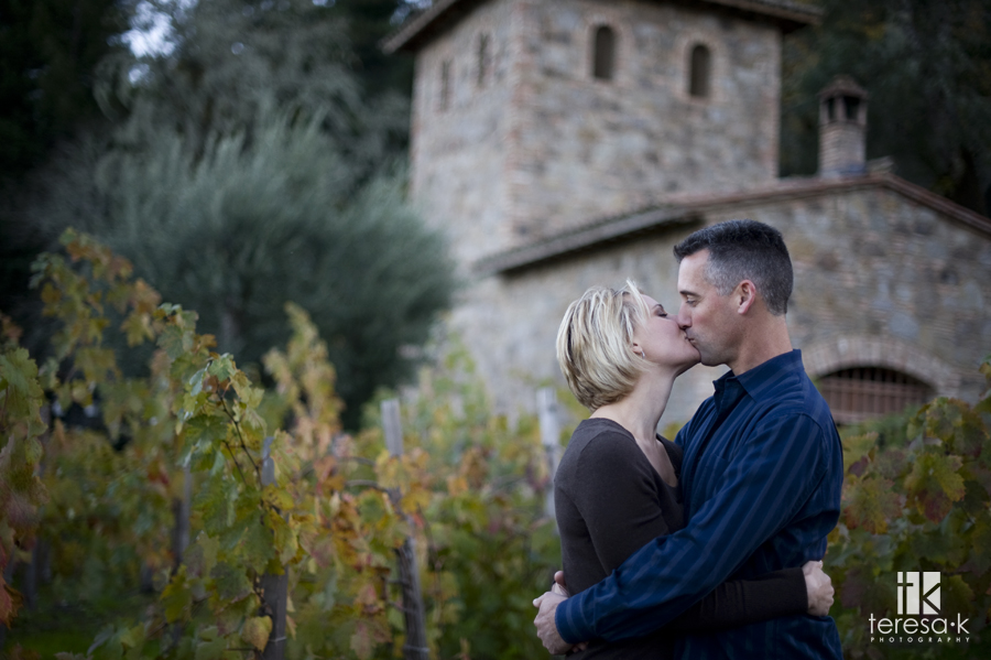 Fall Napa Valley Engagement Session, Teresa k photography, wine country engagement
