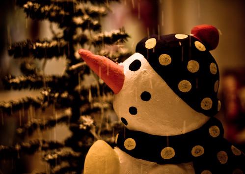 フリー写真素材, 物・モノ, 人形・トイ, クリスマス, 雪だるま,