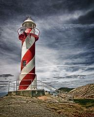Lighthouse (Clyde Barrett (0ffline)) Tags: lighthouse newfoundland nl nfld trinitybay heartscontent impressedbeauty clydebarrett goldstaraward