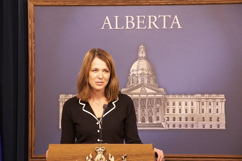 Wildrose Alliance leader Danielle Smith