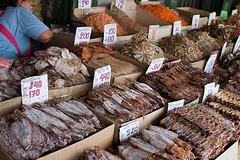 Cuttlefish at a Bangkok Stall