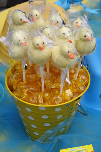 Duckie Cake Pops! Thanks Adorably Sweet Cake Pops by Sweet Boutique Company