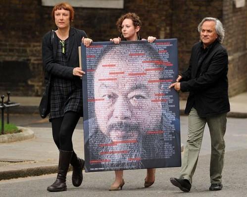 英国的一流艺术家发起释放艾未未的行动 by jiruan