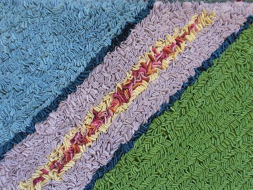 Blanket rag rug - Jenni Stuart-Anderson