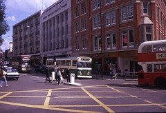 NCT single decker Nottingham 1970 - by Stephen Rees