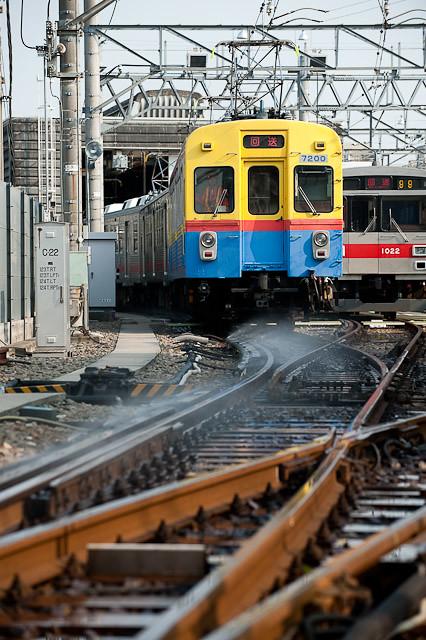 東急電鉄7700系7912F 出場回送