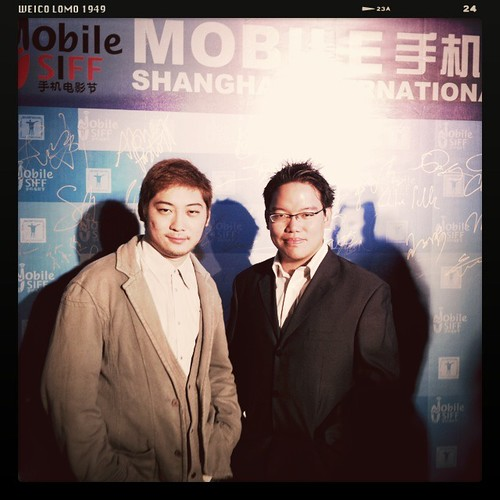 With Derrick Lui at the Mobile SIFF Award ceremony