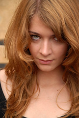 Lucie (rasmus-art) Tags: eyes beauty art 2009 portrait girl womenexpression skmodel sk redhair lucia erotic
