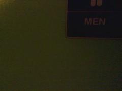 Madonna Hotel men's room