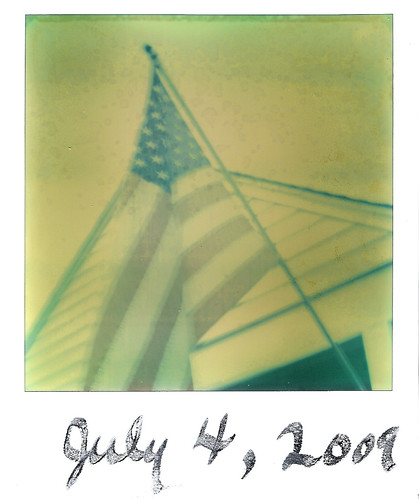 July 4th with a Polaroid SX-70