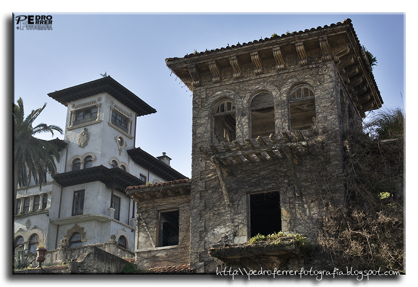 Santander - Avenida Reina Victoria - Quinta Maza y abandonada