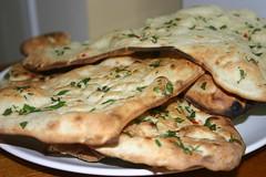 Tasty nan bread