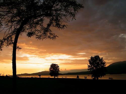 Vancouver Sunset - Vanier Park