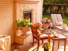 Austin Stone Fireplace