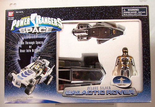 Power Rangers in Space DX Silver Galactic Rover