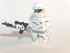snow sniper (kenneth nielsen a.k.a Qenhyt) Tags: snow mod paint lego sniper ba m21 brickarms