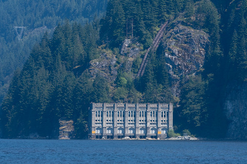 1 of Buntzen Lake's powerhouses