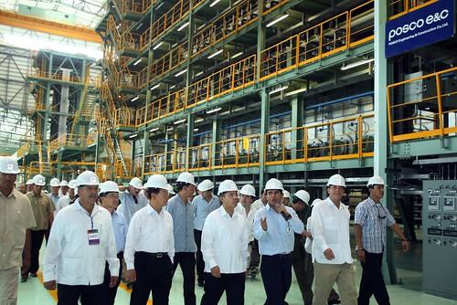 Inauguración de la Planta Manufacturera Posco México (06/08/09)