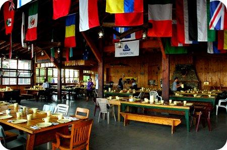 Dining Hall at Camp Wabikon