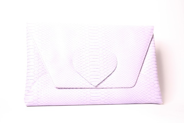 Purple clutch 1
